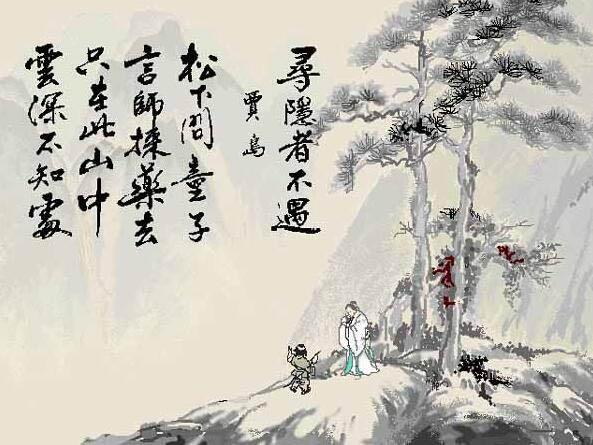 寻隐者不遇 / 孙革访羊尊师诗